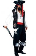 High Seas Buccaneer Pirate Costume (EM3021)